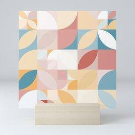 Mid Century Modern Geometric Mini Art Print