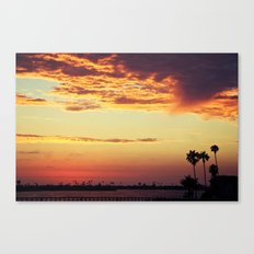 Goodbye sun Canvas Print