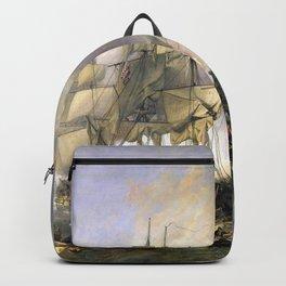 The Battle of Trafalgar Backpack