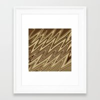 golden Framed Art Prints featuring Golden by DesignsByMarly