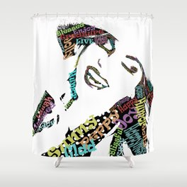 Happy woman I Shower Curtain