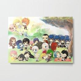 Fairy Tail Metal Print