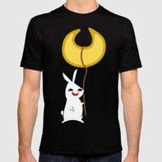 LuLu & BunBun Mens Fitted Tee Black MEDIUM