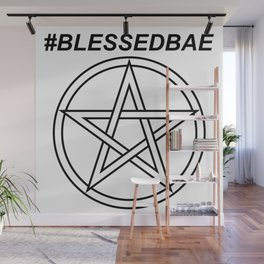 #BLESSEDBAE INVERSE Wall Mural