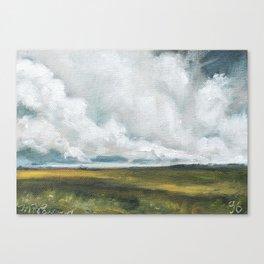 96/100 Canvas Print