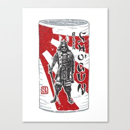 Shogun Beer Canvas Print