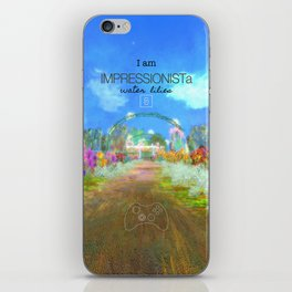 IMPRESSIONISTa Water Lilies iPhone Skin