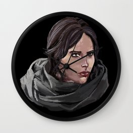 Jyn Erso SW Rogue One Wall Clock