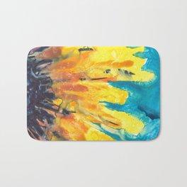 Free Flowing Sunflower Bath Mat