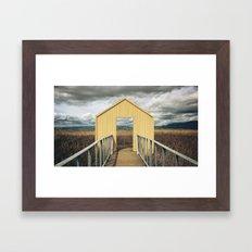 Alviso, CA Framed Art Print