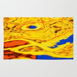 Abstract Reflection Rug