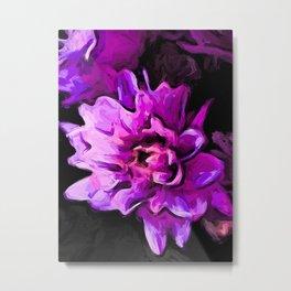 Flowers of Lavender and Pink 1 Metal Print