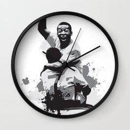 Pele Brazil Wall Clock