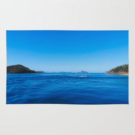 Coastal views - Whitsundays, Queensland, Australia Rug