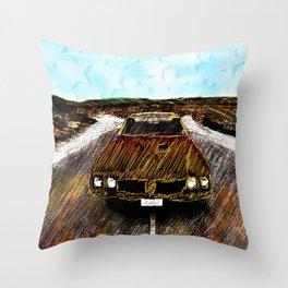 Star Car Throw Pillow