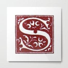 Old letter Metal Print