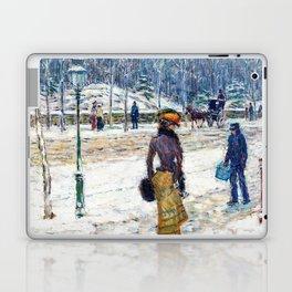 New York Street - Digital Remastered Edition Laptop & iPad Skin