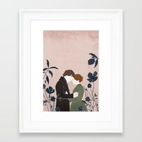 jane eyre Framed Art Prints featuring Jane Eyre by bomrye