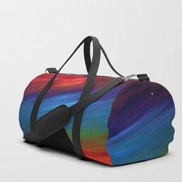 Fire Sky - Pyramids Silhouette Duffle Bag