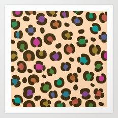 wildlife dreamcoat - leopard 2 Art Print