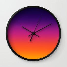 Sunset burst Wall Clock
