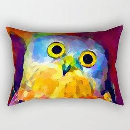 Barking Owl Rectangular Pillow