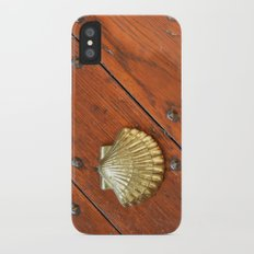 Gold shell Slim Case iPhone X