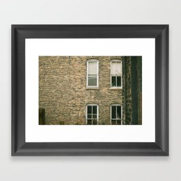 Old Bricks Framed Art Print