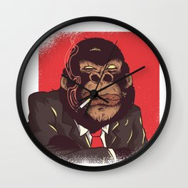 Gorilla Abstract Wall Clock