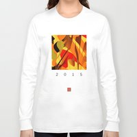 spice Long Sleeve T-shirts featuring pumpkin spice by David Mark Lane