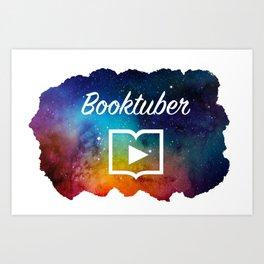 booktuber universe Art Print