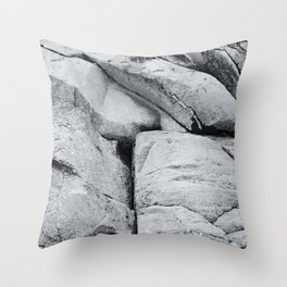 Old Stone Wall V Throw Pillow