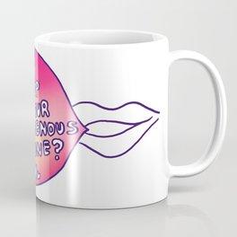 May I Nip At Your Erogenous Zone? Coffee Mug