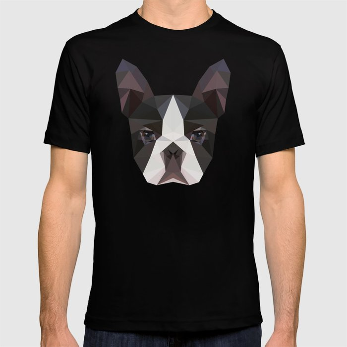 Bostonterrier triangles T-shirt