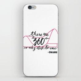360 of Zaha  iPhone Skin