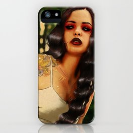 The Trick Is To Keep Breathing I iPhone Case