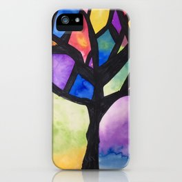 The Tree of Faith iPhone Case