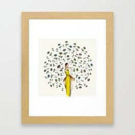 Paris Summer   The Flower Girl Framed Art Print