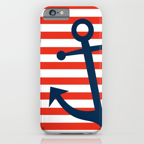 Nautical Anchor iPhone & iPod Case