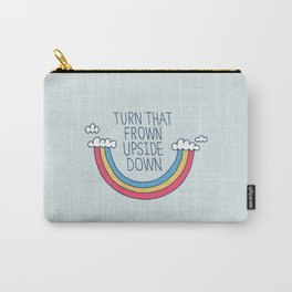 Upside Frown Carry-All Pouch