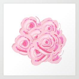 Boca Roses Art Print