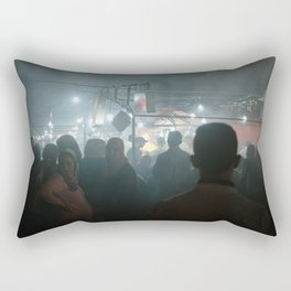 Night Market In Marrakesh, Morocco Rectangular Pillow