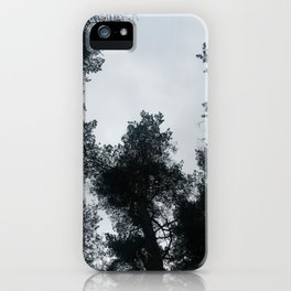 April Trees iPhone Case