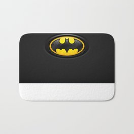 Bat Man Origins Logo Bath Mat
