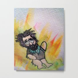Jerry Garcia Dancing Bear Metal Print