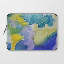 I dream in watercolor A Laptop Sleeve