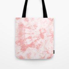 Tie Dye 3 Rose Tote Bag