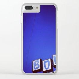 San-Hi Lanes - San Bernadino, CA Clear iPhone Case