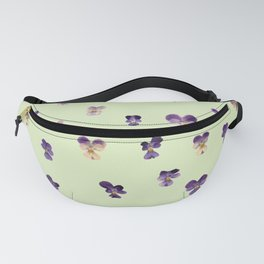 Johnny Jump Up (GREEN) Fanny Pack