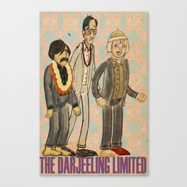 The Darjeeling Limited Canvas Print